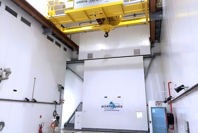The new Fregat Fueling Facility (FCube) – located within the Spaceport's ELS launch complex – will support Arianespace's increased mission pace, providing flexibility in managing the company's launch manifest, while also ensuring higher availability of its Soyuz, Ariane 5 and Vega launchers.