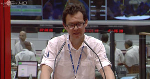 Chairman & CEO Stéphane Israël announced that after today's Soyuz success, the next Arianespace mission is Vega Flight VV03 with the DZZ-HR satellite, scheduled for April 28.