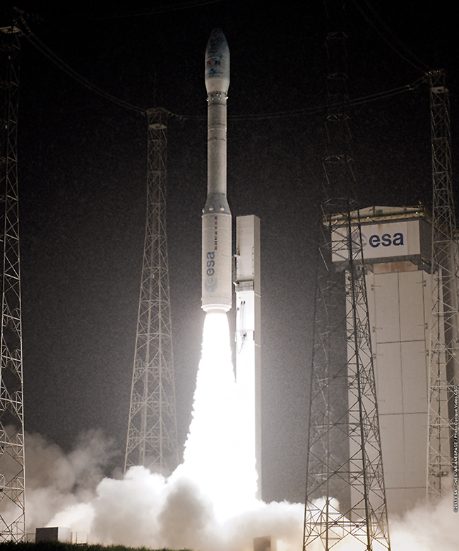 "Vega marks a series of ""firsts"" on its initial mission under"