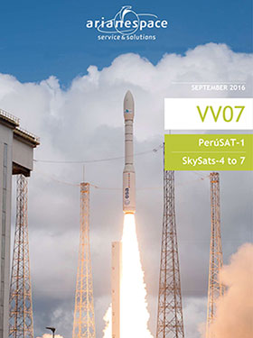 Cover image for the Vega Flight VV07 launch kit