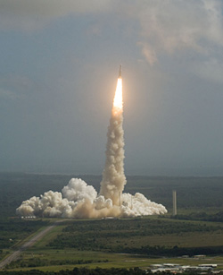 Today's Ariane 5 mission was the 44th flight for Arianespace's workhorse heavy-lift launcher, and its 30th consecutive success.