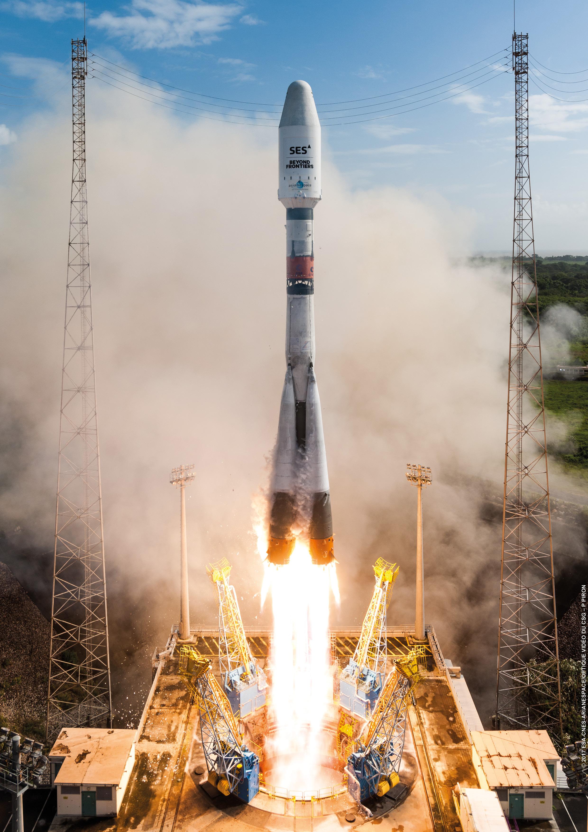 Soyuz Flight Vs17 Arianespace