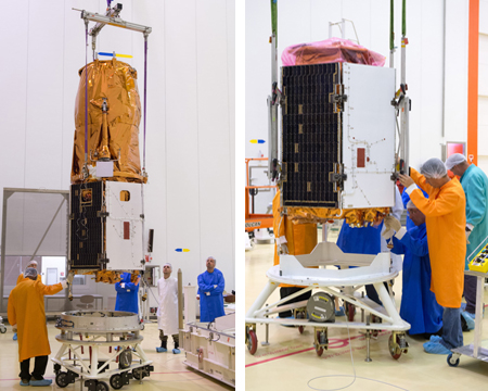 OPTSAT-3000 and Venµs undergo checkout ahead of their Vega launch