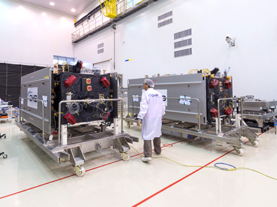 Galileo satellites undergo checkout process