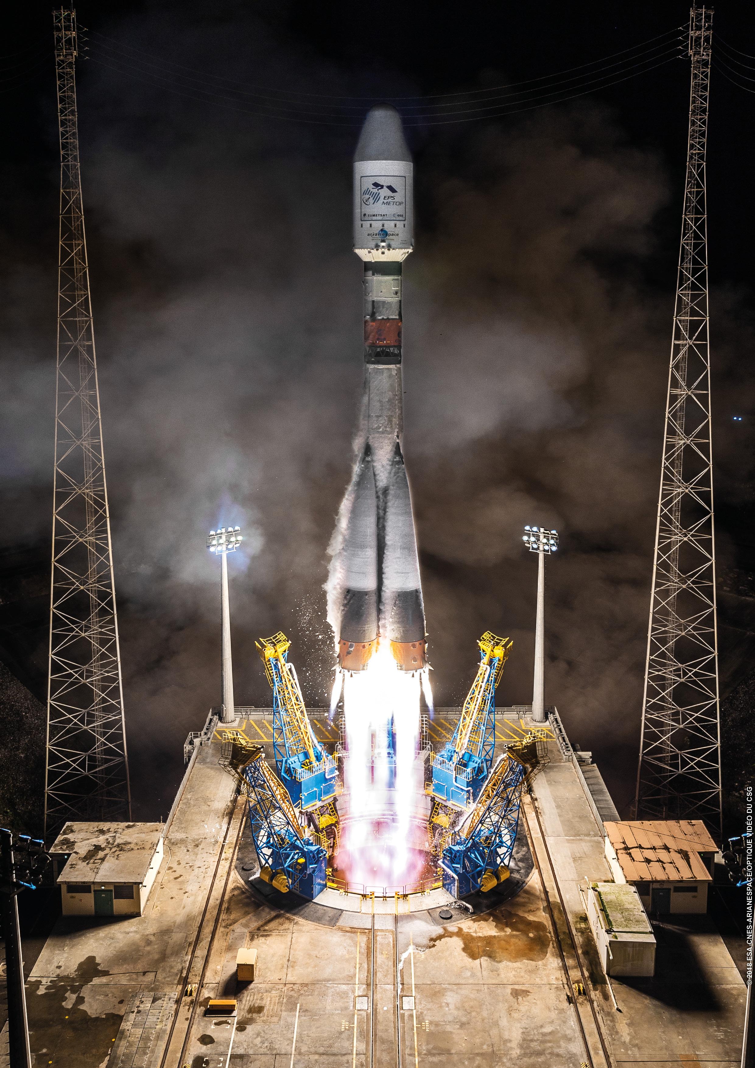 Soyuz Flight VS19 – Arianespace