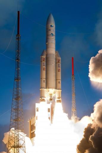 Décollage - Ariane 5 - VA 221- Le 06/12/2014.