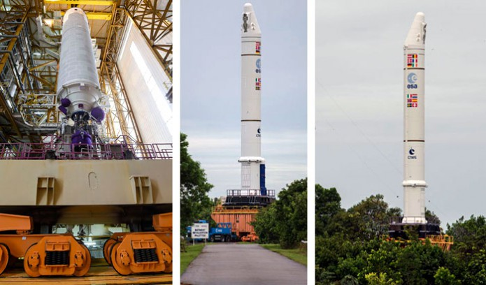 The Go Ahead Is Given For Arianespace S May 27 Heavy Lift