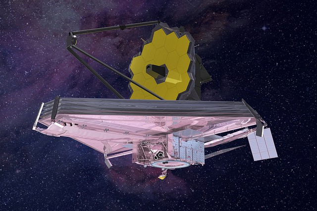 6 Preparing for Tomorrow | New Worlds, New Horizons in ... |James Webb Telescope Drawing