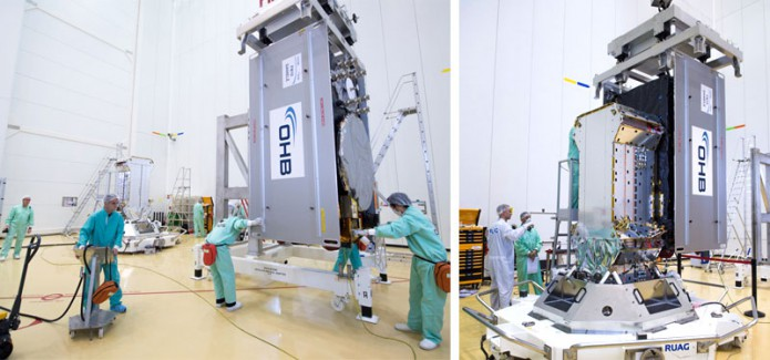 "Integration of Galileo FOC satellite ""Danielė"""