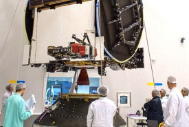 EchoStar 18's fit-check for Arianespace's Ariane 5 Flight VA230