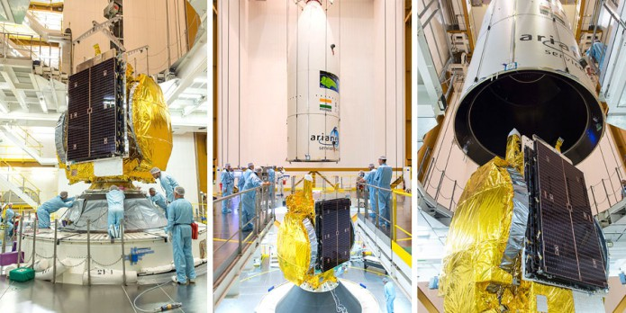 Ariane 5 Flight VA231 payload integration