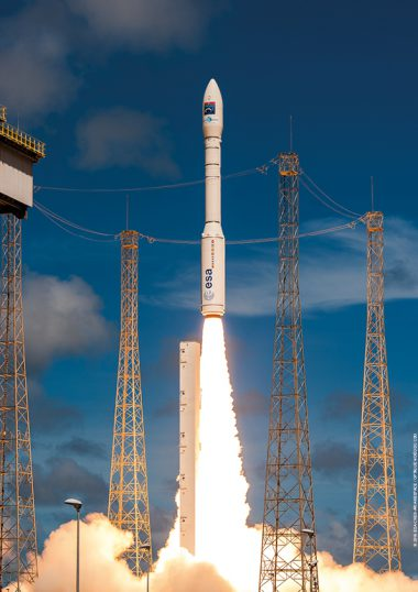 GÖKTÜRK-1, launched by an Arianespace Vega mission performed on December 5, 2016, is Turkey's first governmental satellite for Earth observation. Flight VV08. GÖKTÜRK-1