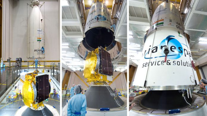 Ariane 5 receives its satellite passengers for Flight VA238