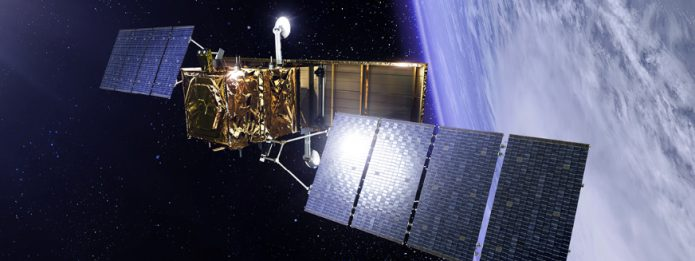 Artist rendering of COSMO-SkyMed Second-Generation satellite