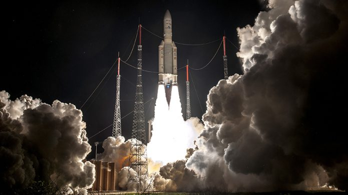 Liftoff of Arianespace Flight VA239