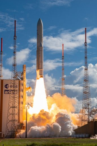 Calendrier Lancement Ariane 2019.Missions Arianespace
